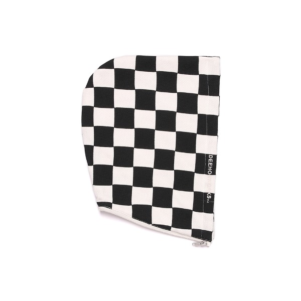 DEEHON CHECKER HOOD (HOOD PARTS) GRAPHIC HOOD